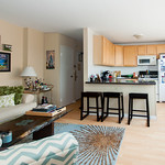 Open floor plans are so inviting. This one is inviting you to make your new apartment home in Evanston.