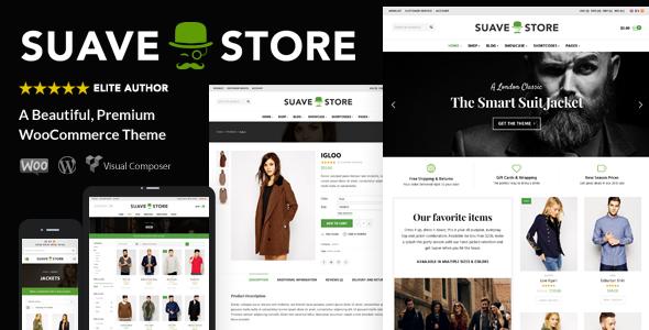 Suave v1.8 – Multi-Purpose WooCommerce Theme
