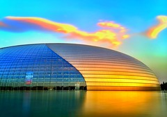 Be still my beating heart. Everything that happens is only a passing cloud. No need to be carried away. (National Center for the Performing Arts, Beijing)