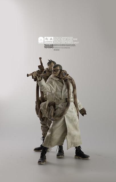 threeA【Snow Commanders Two Pack & Angel Cake Lonely TQ】泰國玩具展限定 1/6 比例人偶作品