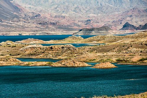 arizona mountains islands desert nevada reservoir hooverdam lakemead coloradoriver np sunsetpoint nationalparksystem wyojones lakemeadnationalrcreationarea