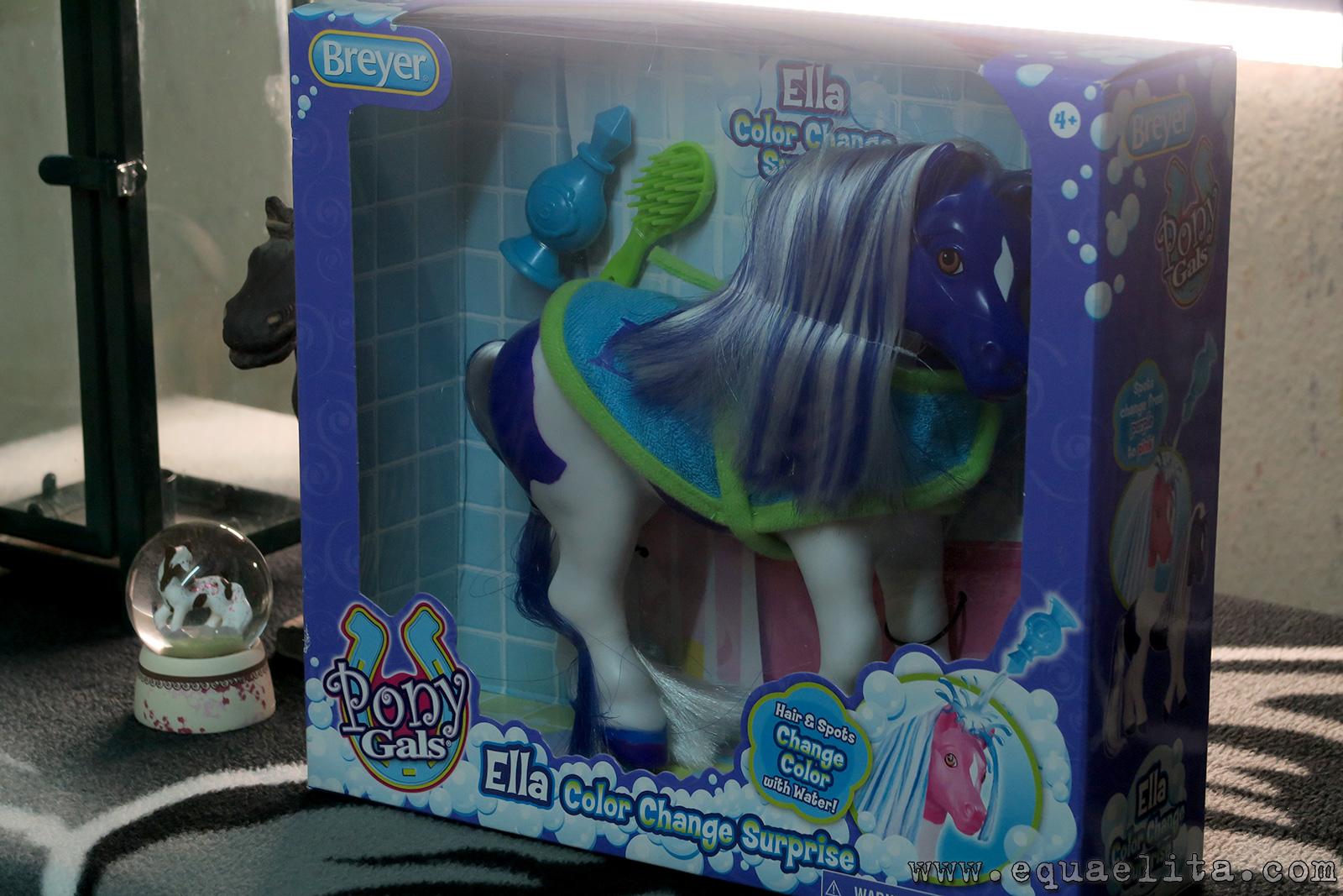 Breyer Pony Gals Ella No. 7107 - коробка