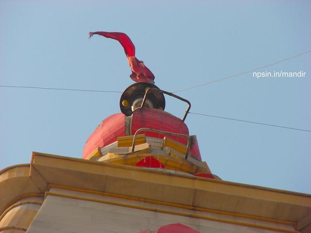 Tip of Main Shikhar of Shri Durga Temple