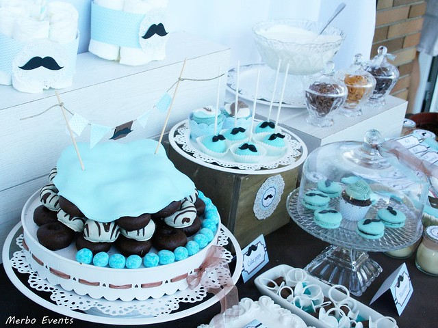 mesa dulce  babyshower por  Merbo Events