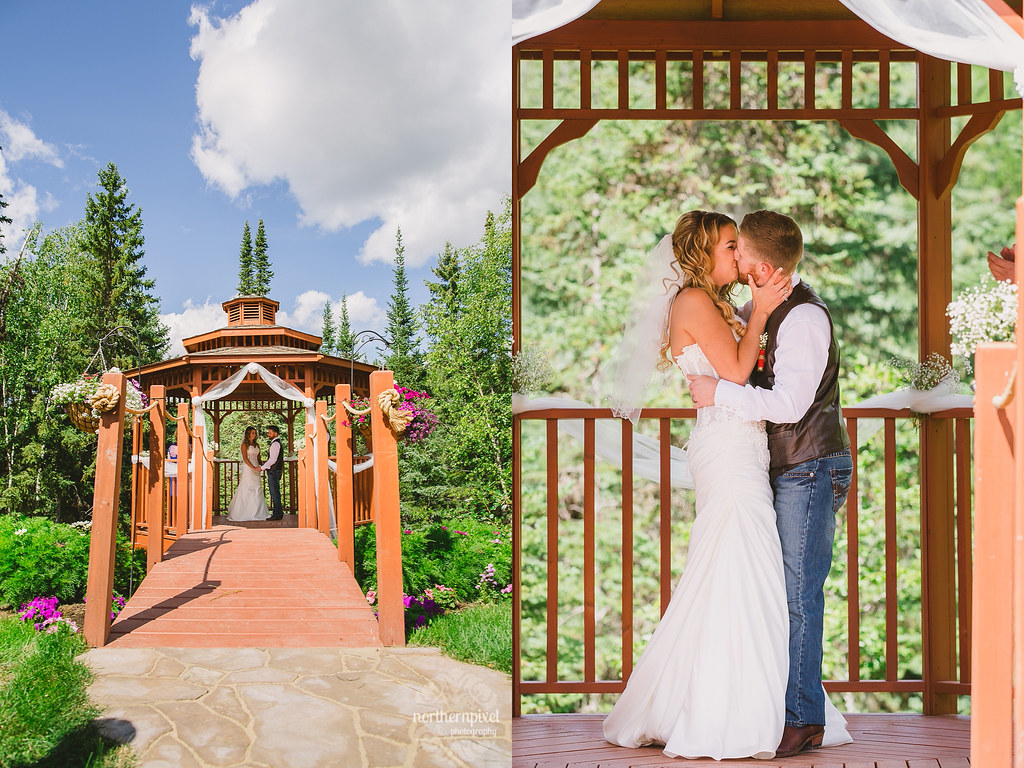Backyard Wedding Prince George British Columbia