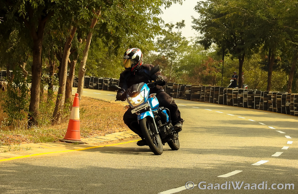 2016 TVS Victor Test Ride Review-42
