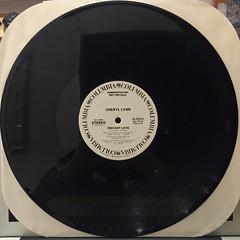 CHERYL LYNN:INSTANT LOVE(RECORD SIDE-B)