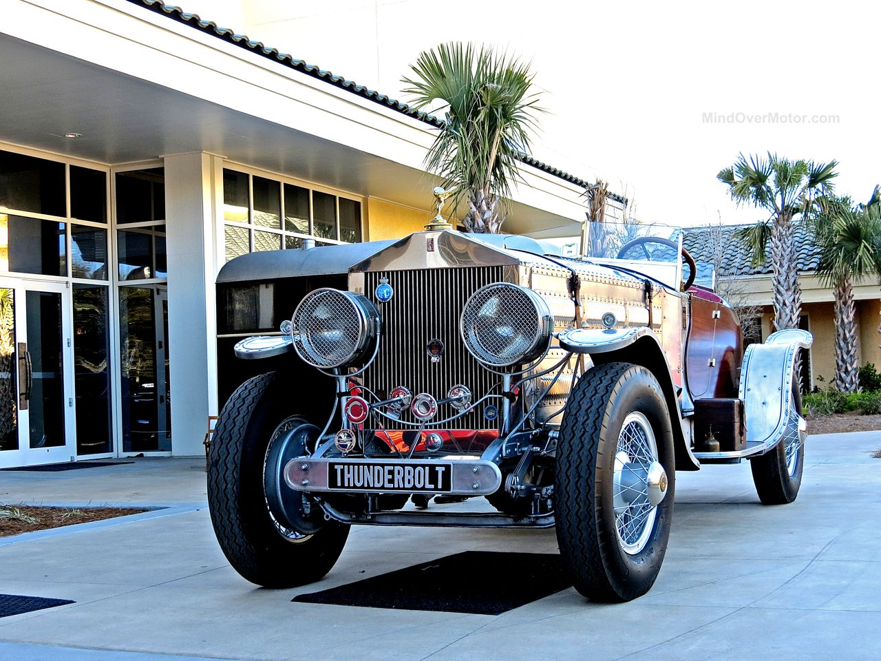 Rolls Royce Thunderbolt V12 Custom Amelia Island 1
