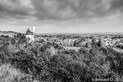 Les Hauts de Villeneuve la Comptal, le Moulin et le panorama