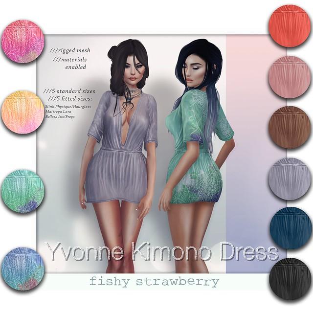 Yvonne Kimono Dress