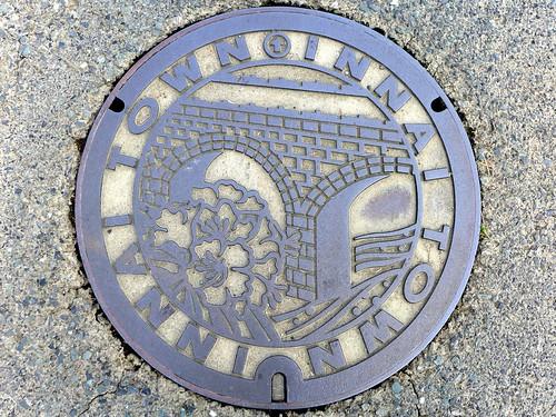 Innai Oita, manhole cover (大分県院内町のマンホール)
