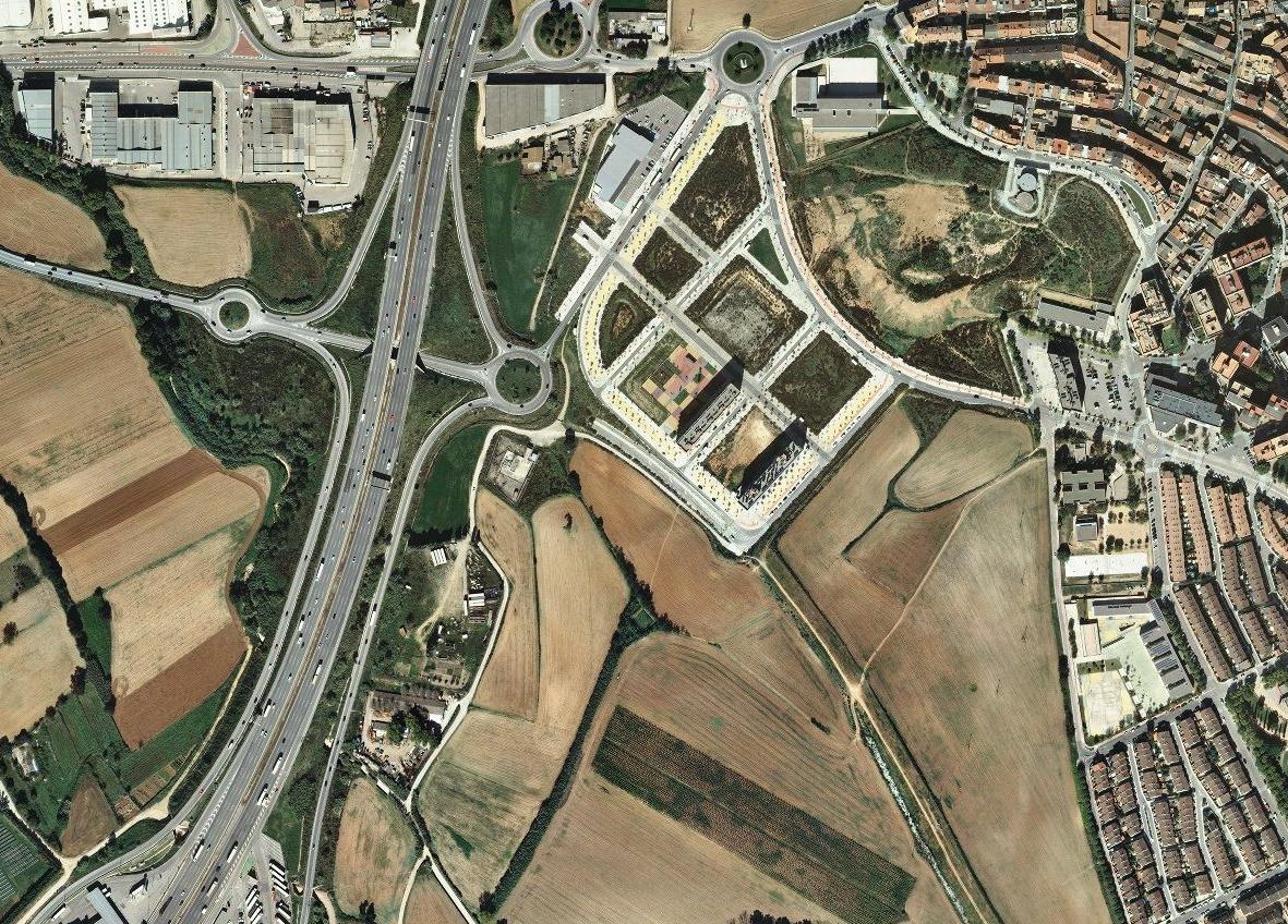 llagosta, barcelona, consider the llagosta, después, urbanismo, planeamiento, urbano, desastre, urbanístico, construcción, rotondas, carretera