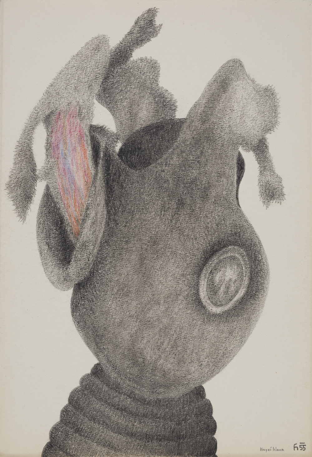 Karel Havlícek - Insects Head, 1955