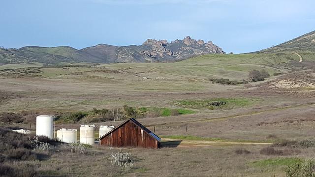 The pinnacles of Pinnacles National Park