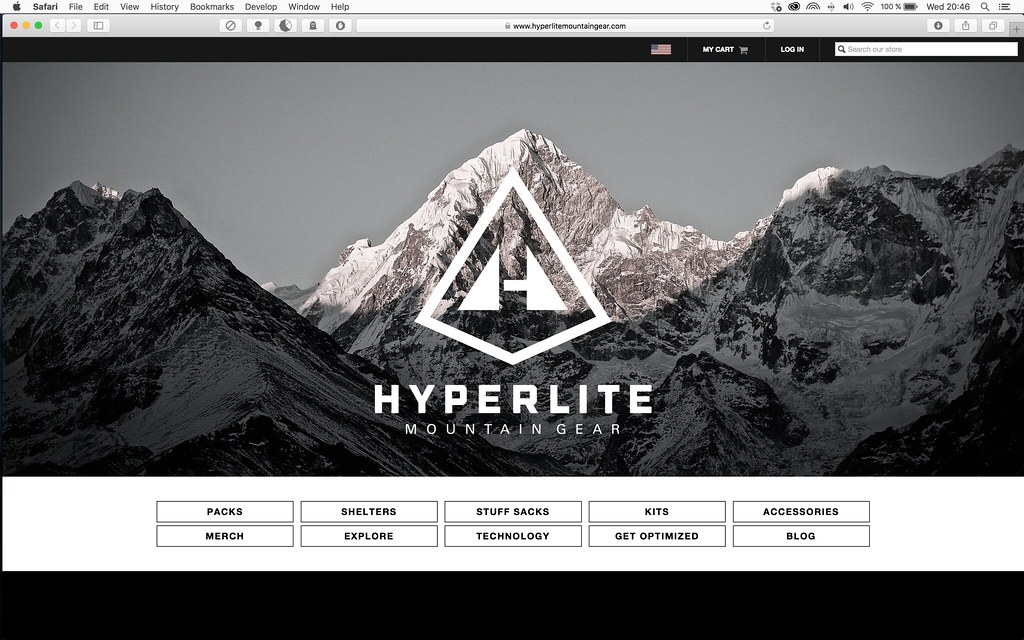 New Hyperlite Mountain Gear Website