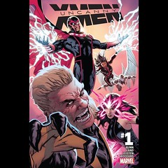 Uncanny X-Men #1 capsule review at www.LongboxGraveyard.com. #XMen #comics