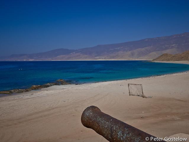 Sea-front at Mirbat