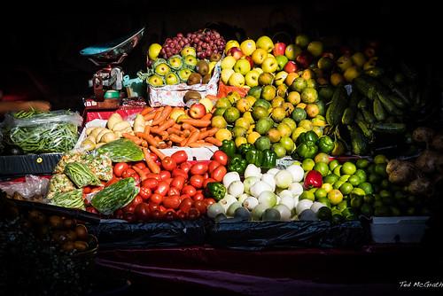 2015 - MEXICO - San Cristobal de las Casas - Sun on Produce