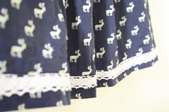 SEW-Reindeer Skirt-Lace