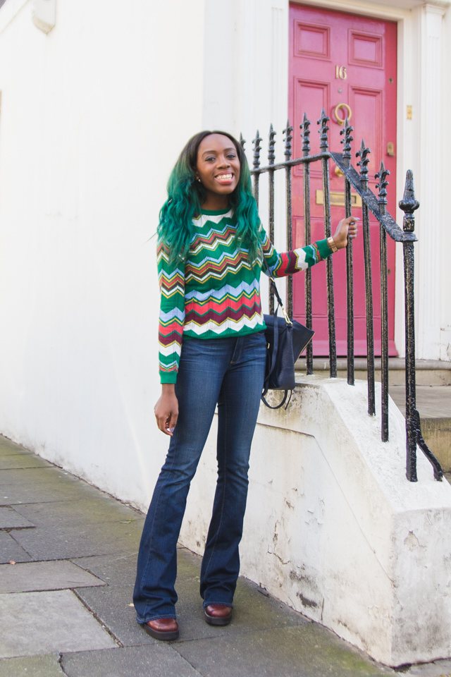 how to style retro 70s knitwear