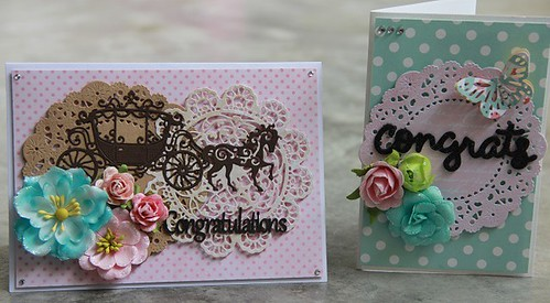 Doilies Wedding Cards