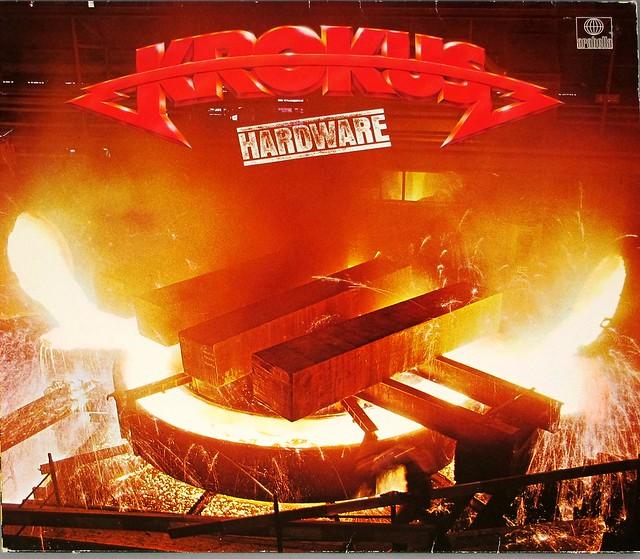 "KROKUS HARDWARE (FRANCE) 12"" LP VINYL"
