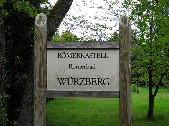 Neckar-Odenwald-Limes ORL 49 - Kastell Würzberg (Trajanic / 260 AD)