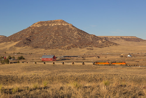 railroad train colorado greenland bnsf emd coaltrain sd70ace rattlesnakebutte jointline bnsf9275