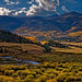 Fall-filled Valley in the Colorado Rockies by Fort Photo