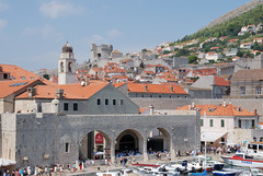 Dubrovnik. The City Harbour