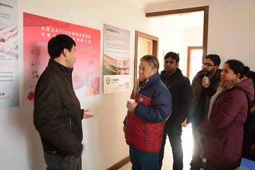 A research visit to Inner Mongolia Agricultural University