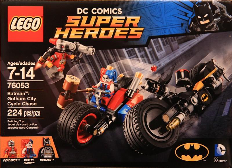 LEGO Super Heroes 2016: 76053 - Gotham City Cycle Chase