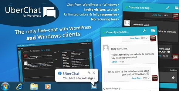 Codecanyon Uber Chat v2.1.10 – Ultimate Live Chat with Windows Client
