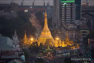 Yangon - Sule Pagoda