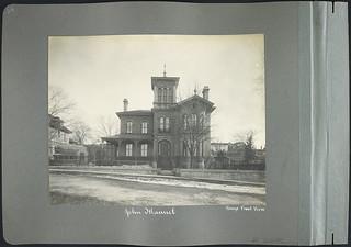 House owned by John Manuel, 34 Vittoria Street, Ottawa, Ontario / Maison appartenant à John Manuel, 34, rue Vittoria, Ottawa (Ontario)