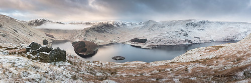 morning winter snow mountains clouds sunrise landscape nationalpark ruins cottage lakes lakedistrict cumbria stillwater fell resevoir haweswater mardale stitchedpanorama lancashirelife canon5diii theoldcorpseroad