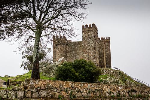 españa castle andalucía spain huelva andalucia andalusia castillo bernabeu marcial bernabéu cortegana