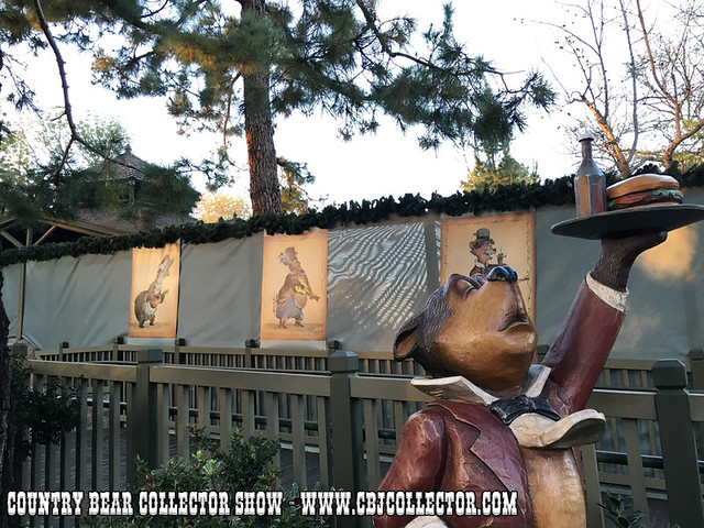 2016 The Country Bears are back at Disneyland! Sort of. - Country Bear Jamboree Collector Show Special Edition