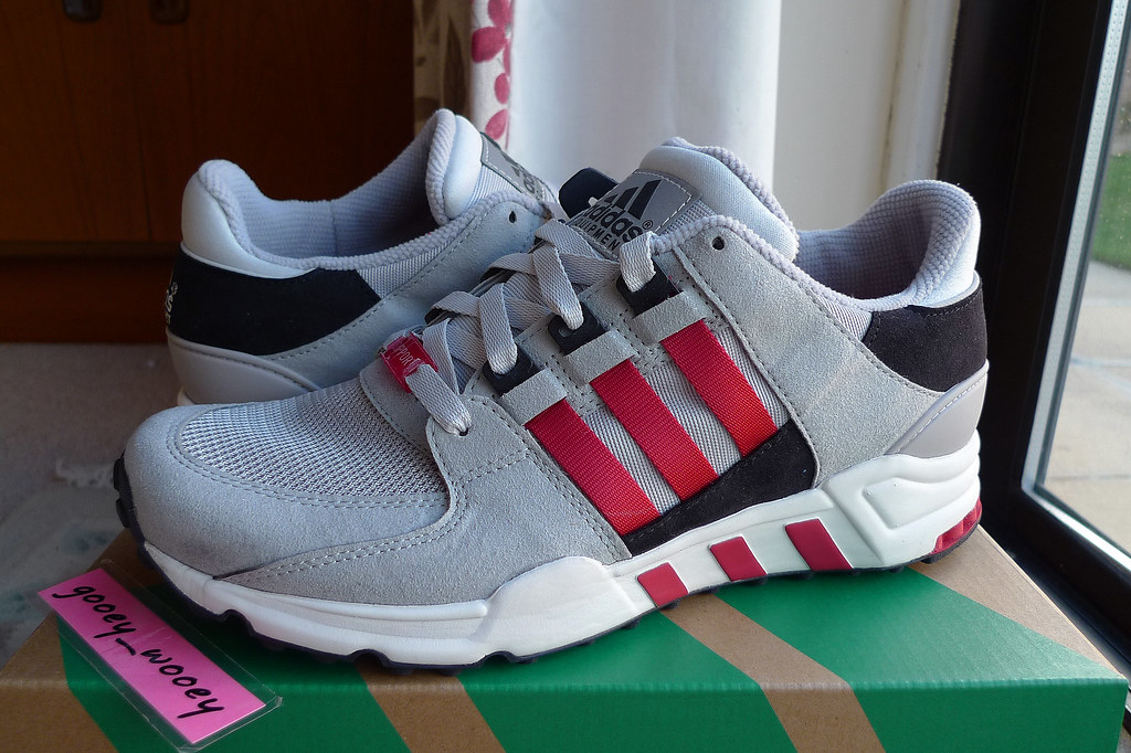 Adidas Eqt Running Support 93 Toro Red Ice Grey