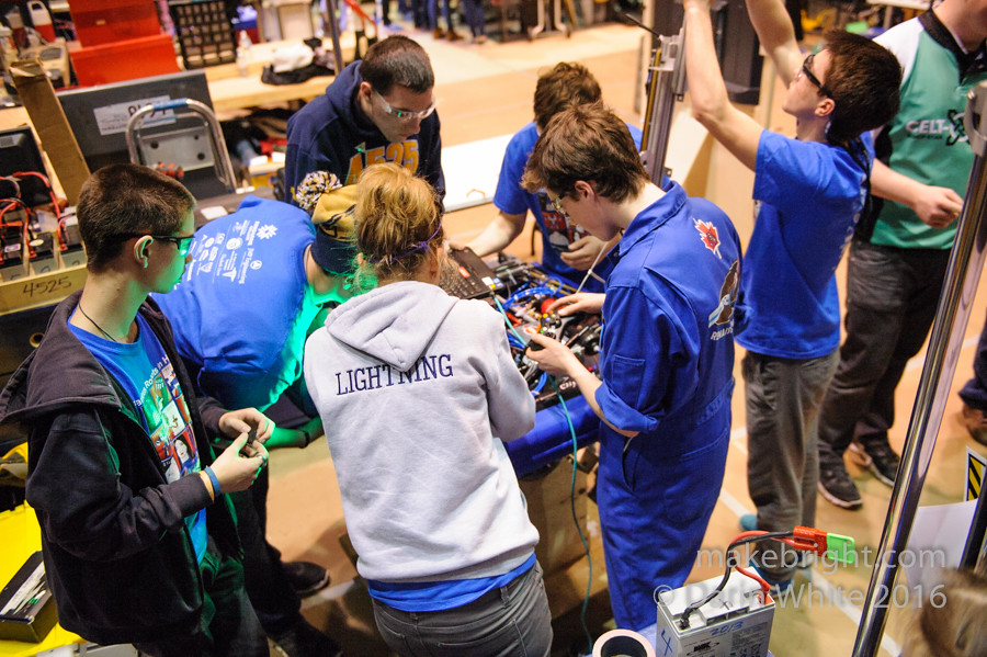 FIRST Robotics Regionals - UW - April 2016 502