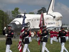 Shuttle Discovery Retirement Ceremony @ NASM Udvar-Hazy Center