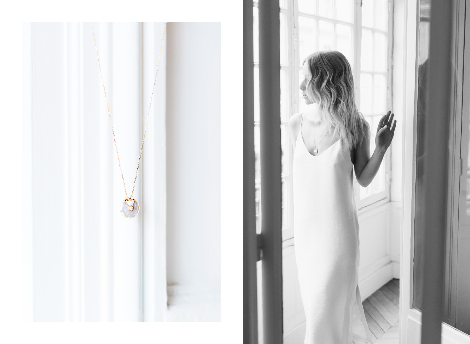 Cartier Mother of Pearl Amulette