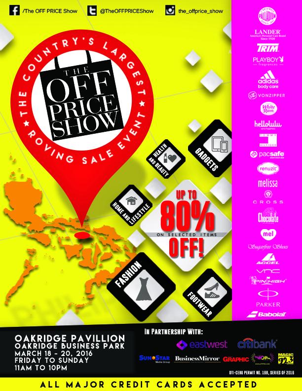 The Off Price Show Cebu 2016