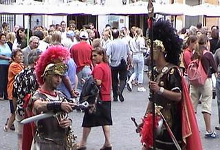 JBlasko Roman Street Performers