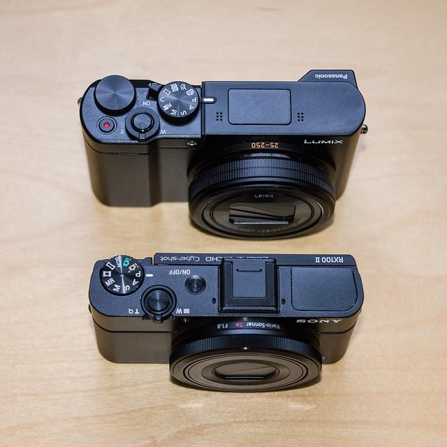 Sony RX100ii vs Panasonic ZS100
