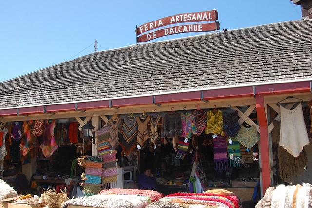 Feria Artesanal, Dalcahue, Chiloé, Chile