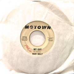 MARY WELLS:MY GUY(JACKET A)