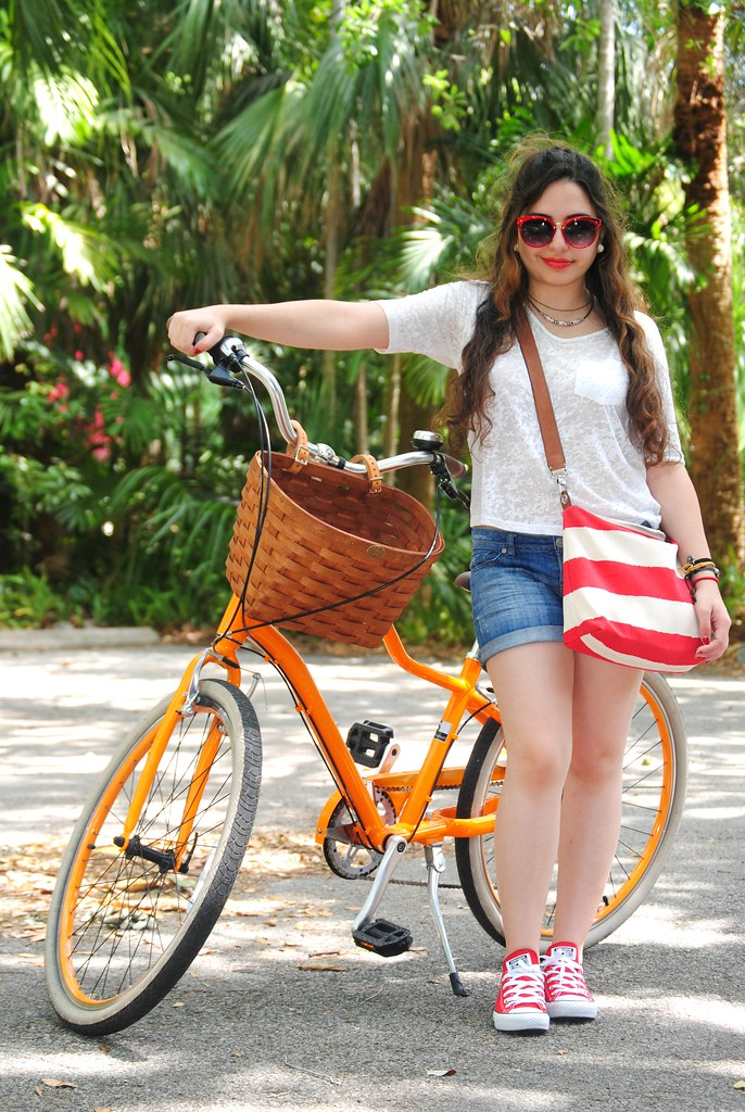 biking around town outfit