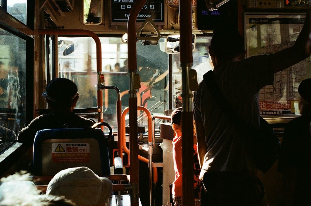 白川通 Kyoto / Kodak ColorPlus / Nikon FM2 2015/09/27 我等的公車來了,我真的超級隨意,那時候看到公車站牌就等,想說這應該都是開往市區的車,方向確定後我就站著慢慢等。  好懷念那個下午。  Nikon FM2 Nikon AI Nikkor 50mm f/1.4S Kodak ColorPlus ISO200 0987-0015 Photo by Toomore