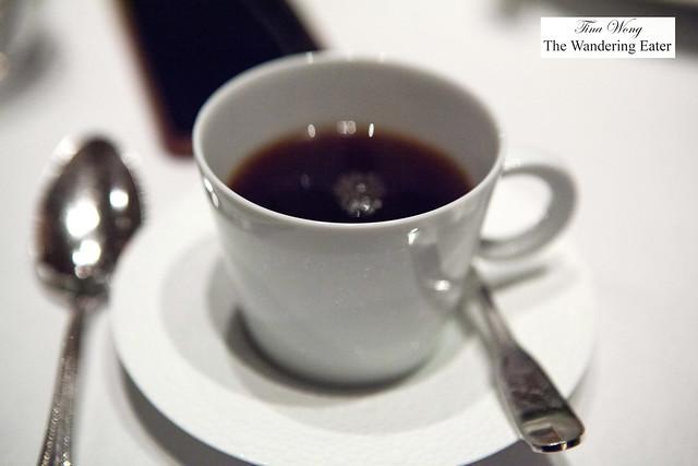 Coffee to go with dessert (besides the Zweigelt, Jäger, Wachau, Austria 2014)
